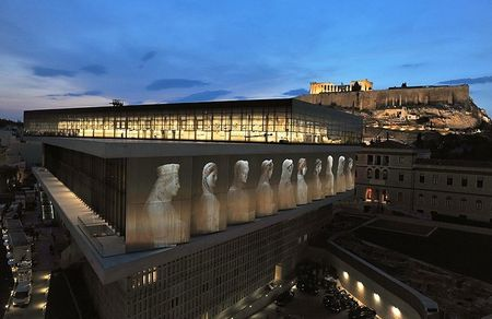 Acropolis-museum NIGHT