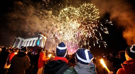 Hogmanay-torch