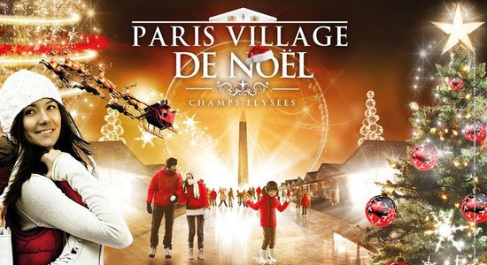 Paris-village-noel
