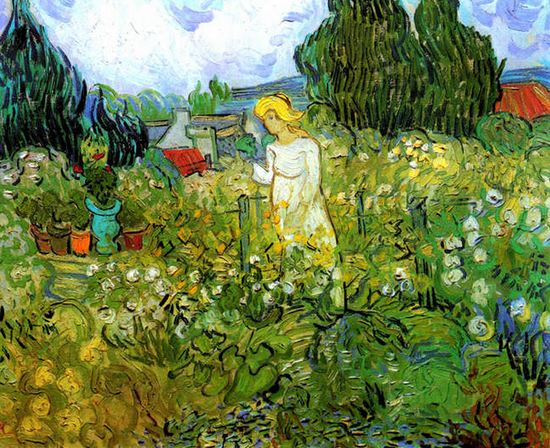 Vincent-van-Goghs-Marguerite-Gachet-in-the-Garden