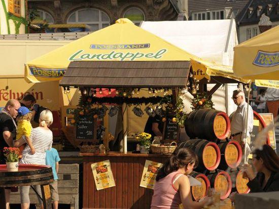 Apfelweinfestival-Rossmarkt