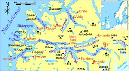 Nordfjord_map
